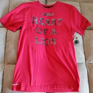 NIKE DRI-FIT TSHIRT COLOR RED SIZE S
